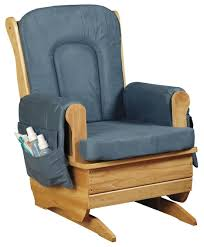 ottoman attractive amish glider rocker nursery gliders chair and