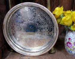 engraved tray engraved silver tray etsy