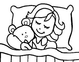 coloring sleeping color coloringcrew 451205