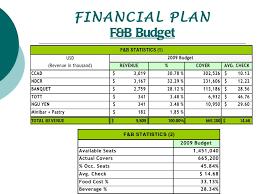 contoh format budget excel presentation