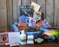 cope and courage for couples gift basket cancer for two is an