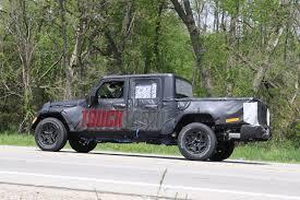jl jeep spied wrangler jl pickup testing on public roads