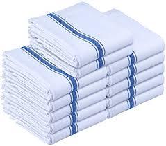 kitchen towels dish cloth 12 pack machine washable