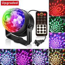 sound activated dj lights alviller party lights led disco ball lights dj light mirror ball