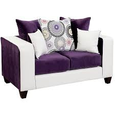 amazon com flash furniture riverstone implosion purple velvet