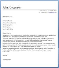 electrical engineering cover letter examples creative resume