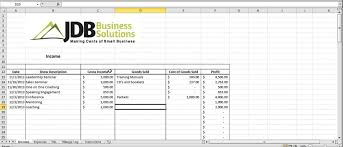 Small Business Tax Spreadsheet by Accounting And Tax Spreadsheet For Entrepreneurs