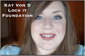 kat von d 44 light cool kat von d lock it foundation first impression wear test youtube