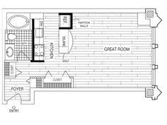 3 Bedroom Apartments Chicago 1 Bedroom 1 Bath Floor Plan Of Property Fisher Building City