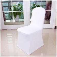 white spandex chair covers universal spandex chair covers wedding banquet chair cover white