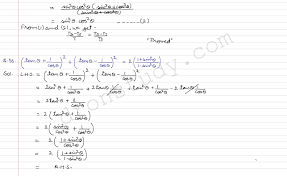 cbse class 10 class x cbse r d sharma solutions trigonometeric