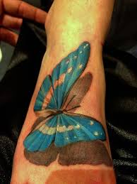 blue butterfly diamond tattoos and des moines iowa on pinterest