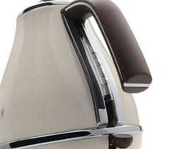Delonghi Icona 4 Slice Toaster Black Buy Delonghi Icona Vintage Kbov3001bg Jug Kettle Cream Icona