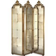 three panel venetian mirror screen elizabeth marshall screens with