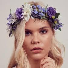 flower crowns silk flower crowns headwear rock n