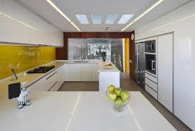 Shiny White Kitchen Cabinets Latex And High Gloss Kitchen Cabinets