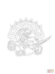 toronto raptors logo coloring page free printable coloring pages