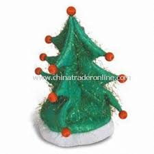 Christmas Tree With Optical Fiber Lights - wholesale christmas tree hat with light made of optical fiber