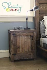 night stand ideas pottery barn inspired truss end tables diy nightstand