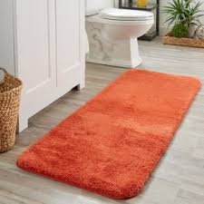 bathroom rug ideas orange bath rugs mats you ll wayfair