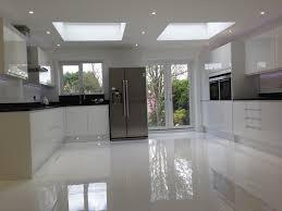 tiles white granite flooring kitchen tiles with chic bar stools