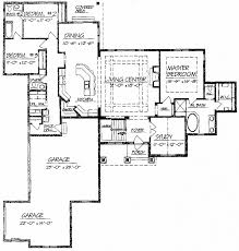ranch floor plans with basement house plan inspirational 1 level house plans with basement 1