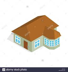 One Storey House by One Storey House With Veranda Icon Stock Vector Art U0026 Illustration