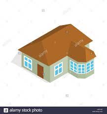 one storey house with veranda icon stock vector art u0026 illustration