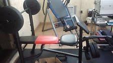 Weider Pro 240 Weight Bench Weider Weights Ebay