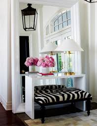 How To Decorate A Foyer by Decorate Entryway Mirror Style