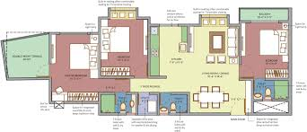 Standard Measurement Of House Plan by Standard Room Sizes In Meters Bedroom Living Size Floorplan 12x12