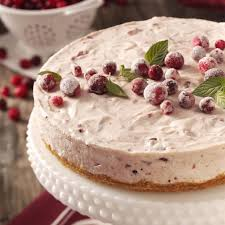 mallow cranberry cheesecake recipe taste of home