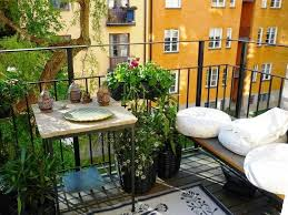 Ideas For Small Balcony Gardens by