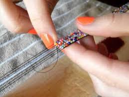 bead weave bracelet images Making a bead loom bracelet jpg