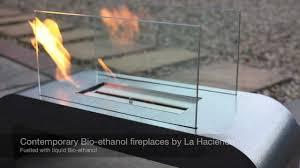 bio ethanol fireplaces from la hacienda ltd youtube