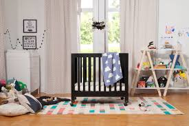 Portable Crib Mattress Size by Origami Portable Mini Crib U0026 Reviews Allmodern
