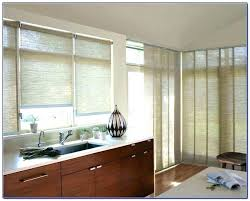 window treatments for kitchens window treatment ideas for sliding glass doors awoof me