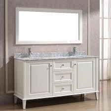 art bathe lily 63 white double bathroom vanity solid hardwood vanity