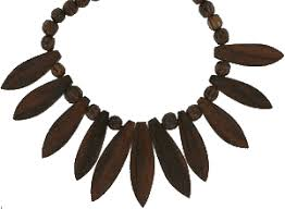 wooden necklaces carved wooden necklace