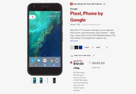 verizon offers discounts on pixel phones as low as 240 and