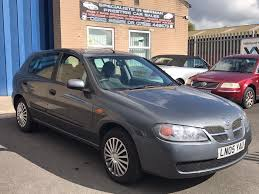 used nissan almera 1 8 for sale motors co uk