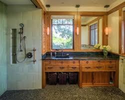 Craftsman Style Bathroom Fixtures Arts And Crafts Style Bathroom Lighting Cabinet Plans Craftsman