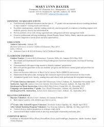 Kindergarten Teacher Resume Job Description by Preschool Teacher Resume 9 Free Word Pdf Documents Download