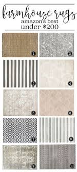 Farmhouse Kitchen Rug What To Do When You Can T Afford Joanna S Rugs Living Rooms