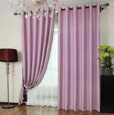 chambre color custom blackout curtains in violet color for buy as photo
