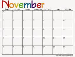 thanksgiving month 2016 calendar thanksgiving