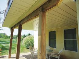 How To Build An Awning Over A Deck Under Deck Drainage Roundup Professional Deck Builder