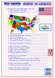 How Many Stars Are On The Flag The Usa 3 Page Activities Updated After 8th November Worksheet
