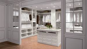 simple traditional walk in closet designs with nice lounge chair