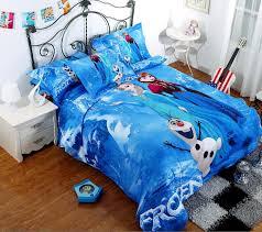 Frozen Comforter Set Full 100 Cotton Frozen Bedding Elsa Anna Olaf Bedding For Girls 3d